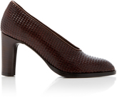 Co Leather Weave Pump