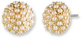 lonna & lilly Clustered Pearl Stud Earrings