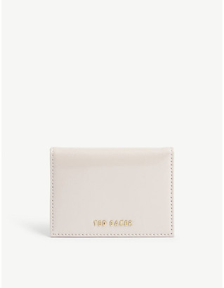 Ted Baker Llilie leather card holder