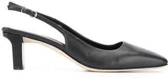 AEYDĒ Debs 65mm square toe pumps