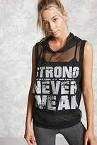 Forever 21 FOREVER 21+ Active Strong Never Weak Top