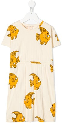 Mini Rodini Fish Print Dress