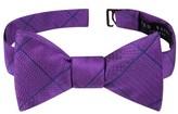 Ted Baker Men's True Grid Check Silk Bow Tie