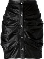 Etoile Isabel Marant 'July' faux leather skirt - women - Cotton/Polyurethane/Viscose - 40