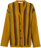 Marni oversized striped cardigan - women - Virgin Wool - 36