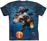 The Mountain Blue Underwater Dog Rhoda Tee - Unisex