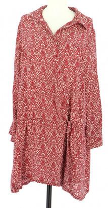 Ba&sh X Vestiaire Collective Red Silk Dresses