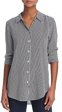 Equipment Essential Silk Stripe Shirt