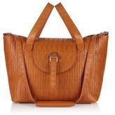 Meli-Melo Thela Medium Tote Bag Tan Woven