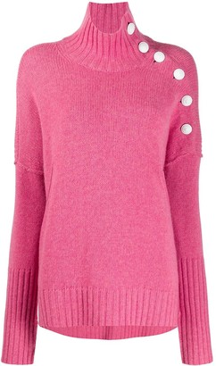 Zadig & Voltaire Dropped Shoulder Turtle Neck Jumper
