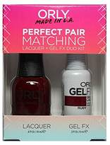 Orly Perfect Pair Matching Lacquer+Gel FX Kit - Ruby - 0.6 oz / 0.3 oz