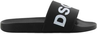 DSQUARED2 Logo D2 Slide Sandals