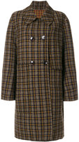 Sofie D'hoore checked reversible coat