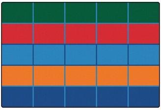 Carpets for Kids Value Plus Color Blocks Area Rug