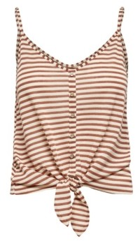 Only Cannes Glitter Stripe Tank Top