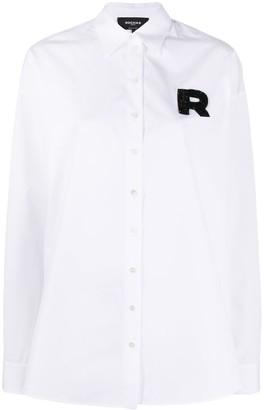 Rochas Logo Embroidered Shirt