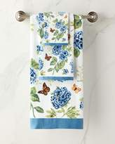 Lenox Blue Flower Garden Bath Towel