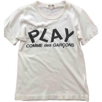 Play Comme Des Garã§Ons Play Comme Des GarAons White Cotton T-shirts