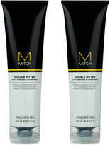 Paul Mitchell Mitch Double Hitter 2-In-1 Shampoo & Conditioner Duo (Two Items), 8.5-oz, from Purebeauty Salon & Spa