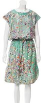 Cynthia Rowley Silk Midi Dress