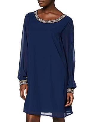 Yumi Embellished Neck And Cuff Tunic Dress