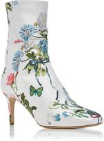 Monique Lhuillier Paloma Floral Boot