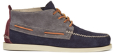 Sperry A/o 2eye Wedge Suede Chukka Boots - Dark Grey