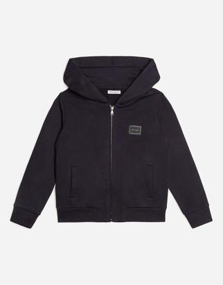Dolce & Gabbana Cotton Sweatshirt With Logo