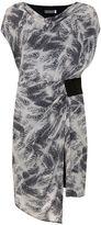Mint Velvet Indra Print Cowl Neck Dress