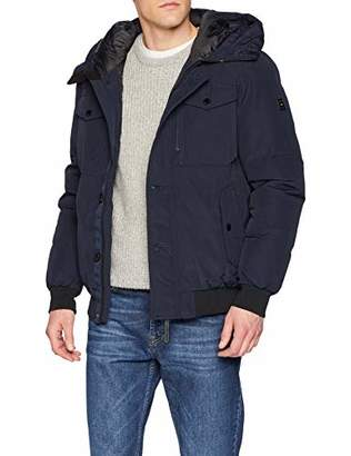 Tom Tailor Men's Blouson Jacke, Outdoorjacke Mit Hohem Stehkragen Jacket,X-Large