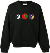 Gosha Rubchinskiy yin yang sweatshirt - men - Cotton/Nylon - S