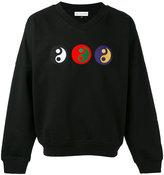 Gosha Rubchinskiy yin yang sweatshirt - men - Cotton/Nylon - XS
