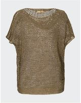 Fay Linen And Cotton Blend Sweater