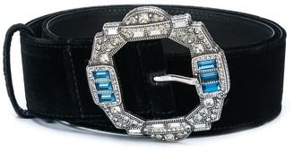 Etro Embellished Buckle Belt