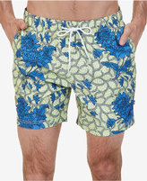 Nautica Men's Quick Dry Floral Swim Trunks