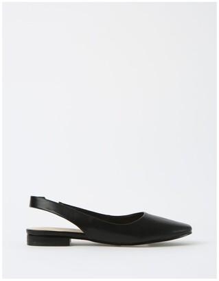 Miss Shop Autumn Black Flat Shoes