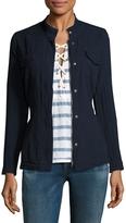Splendid Women's Solid Cotton Jacket