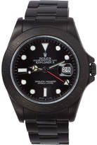 Black Limited Edition Matte Rolex Explorer II Watch