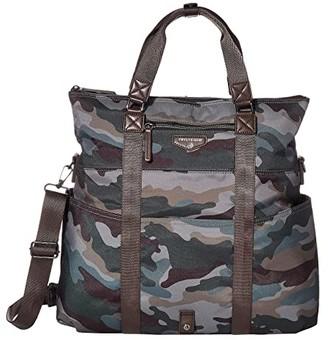TWELVElittle 3-in-1 Fold-Over Tote (Camo) Diaper Bags