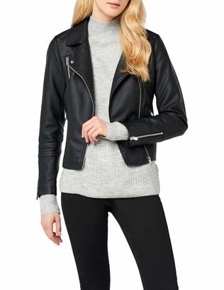 Only Women's Onlgemma Faux Leather Biker Otw Noos Jacket