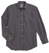 Thomas Dean Boy's Check Dress Shirt