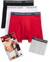 Polo Ralph Lauren Holiday Men's 4 Pack Boxer Briefs