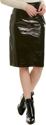 Walter Baker Molli Patent Leather Skirt