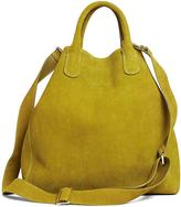 Brooks Brothers Calfskin Suede Shopper