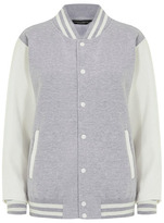 Dorothy Perkins Grey varsity jacket