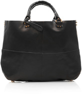 Topshop Clean Leather Tote