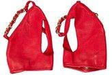 Chanel Fingerless Chain-Link Gloves