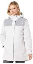 The North Face Menlo Insulated Parka (Tin Grey/Mid Grey) Women's Clothing
