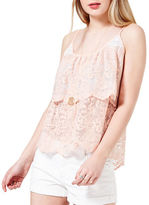 Miss Selfridge Layered Lace Camisole
