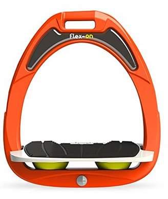 Flex on Green Composite Range Junior Inclined Ultra-Grip Frame Orange Footbed Color: Gray ELASTOMERS: